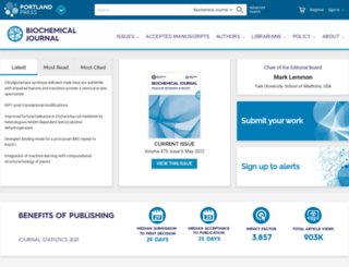 biochemj.org screenshot