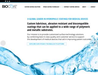 biocoat.com screenshot