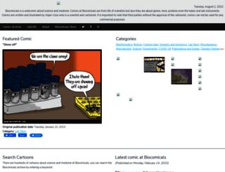 biocomicals.com screenshot