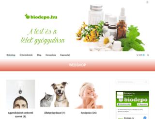 biodepo.hu screenshot
