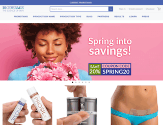 biodermis.com screenshot