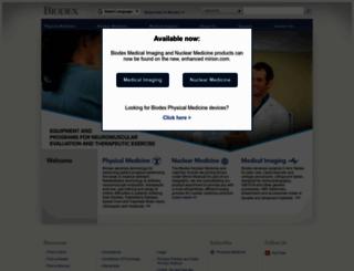 biodex.com screenshot