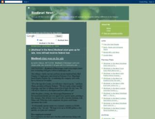 biodiesel-news.blogspot.com screenshot