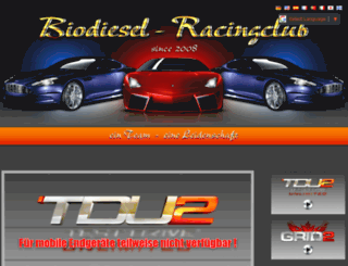 biodiesel-racing-club.de screenshot