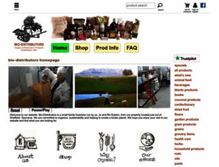 biodistributors.com.au screenshot