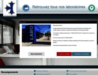 biodoc.mesresultats.fr screenshot