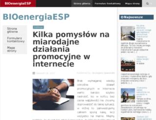 bioenergiaesp.com.pl screenshot