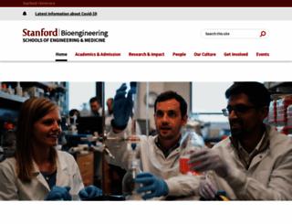 bioengineering.stanford.edu screenshot