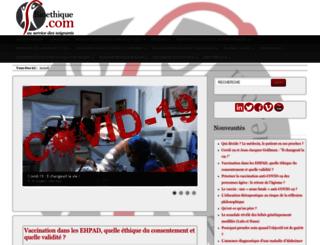 bioethique.com screenshot