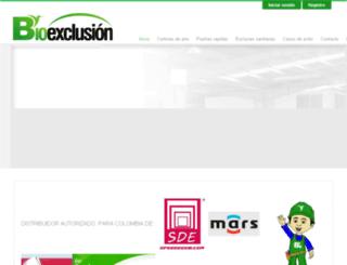 bioexclusion.com.co screenshot