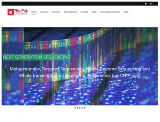 biofabresearch.it screenshot