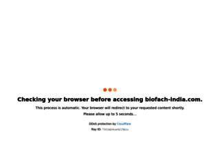 biofach-india.com screenshot