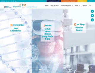 biofarma.co.id screenshot