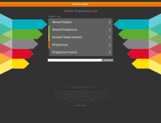 biofire-fireplaces.co.za screenshot