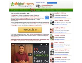 biofitness.hu screenshot