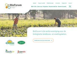 bioforumvlaanderen.be screenshot