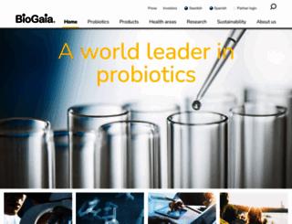 biogaia.com screenshot