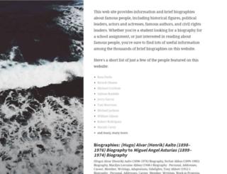biography.jrank.org screenshot