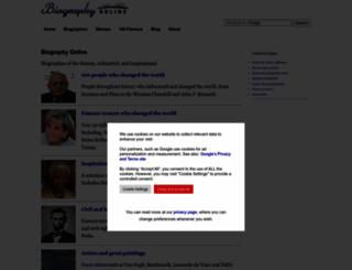 biographyonline.net screenshot