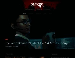 biohaze.com screenshot