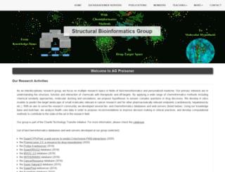 bioinf-services.charite.de screenshot