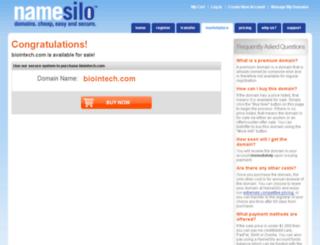 biointech.com screenshot