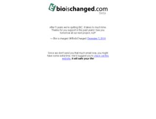 bioischanged.com screenshot