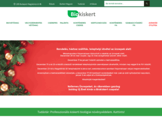 biokiskert.hu screenshot