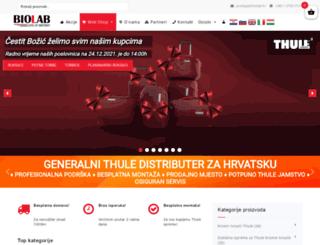 biolab.hr screenshot