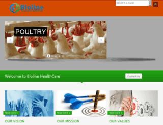 biolinehealthcare.com screenshot