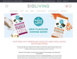 bioliving.com.au screenshot