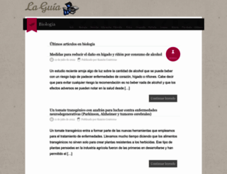biologia.laguia2000.com screenshot