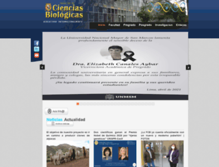 biologia.unmsm.edu.pe screenshot