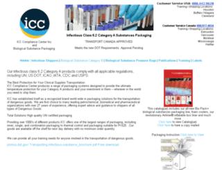 biologicalsubstancepackaging.com screenshot