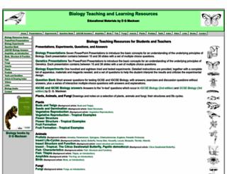 biology-resources.com screenshot