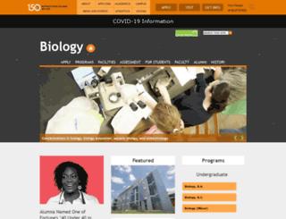 biology.buffalostate.edu screenshot