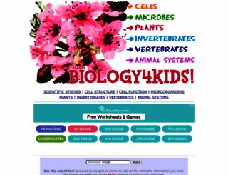 biology4kids.com screenshot