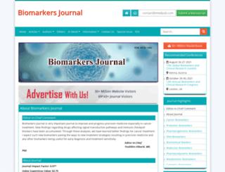 biomarkers.imedpub.com screenshot