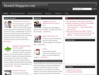 biomed-singapore.com screenshot