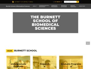 biomed.ucf.edu screenshot