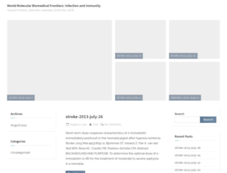 biomedfrontiers.org screenshot