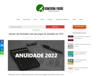 biomedicinapadrao.com.br screenshot