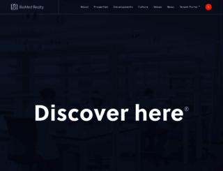 biomedrealty.com screenshot