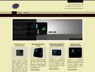 biometricattendancesystem.in screenshot