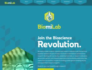 biomilab.com screenshot