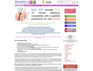 bionetics.co.uk screenshot