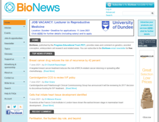bionews.org.uk screenshot