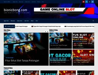 bionicbong.com screenshot