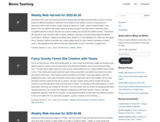 bionicteaching.com screenshot