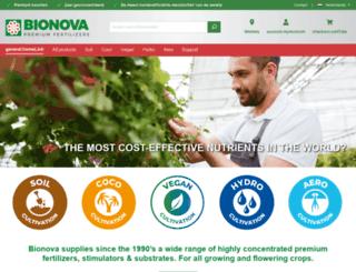 bionova.nl screenshot